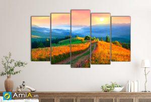 Hình ảnh Tranh treo tường phong cảnh thiên nhiên đẹp AmiA 1434
