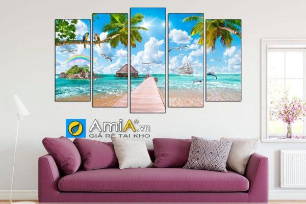 Tranh phong cảnh biển đẹp Amia 1615