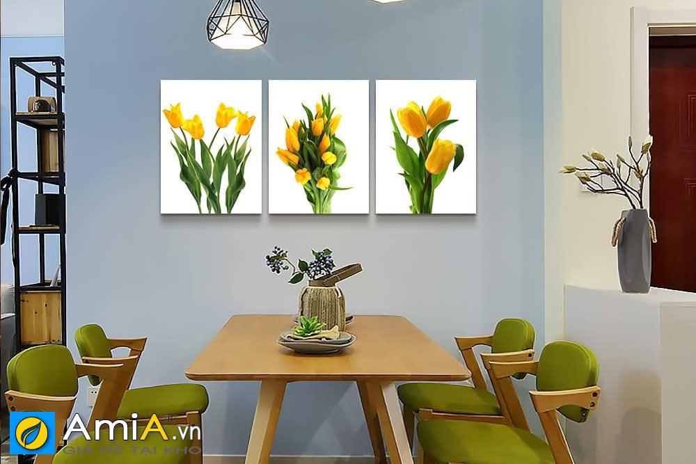 Hình ảnh tranh bộ treo phòng ăn Amia 919115