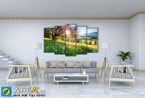Tranh ghép bộ phong cảnh thiên nhiên Amia 1628