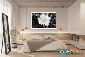 Tranh hoa nghệ thuật treo phòng ngủ amia KS02