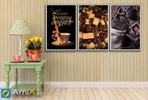 Tranh treo quán cafe hiện đại amia 919023