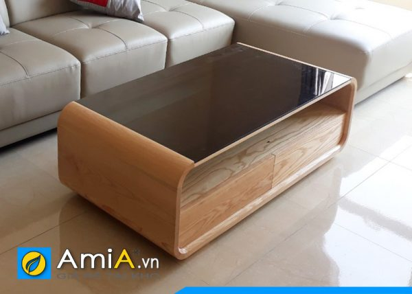 Mẫu bàn trà gỗ tự nhiên đẹp