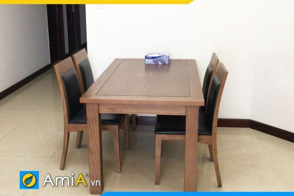 Bộ bàn ăn 4 ghế gỗ sồi
