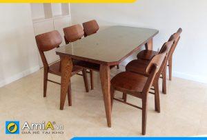 Bộ bàn ăn 6 ghế đẹp giá rẻ