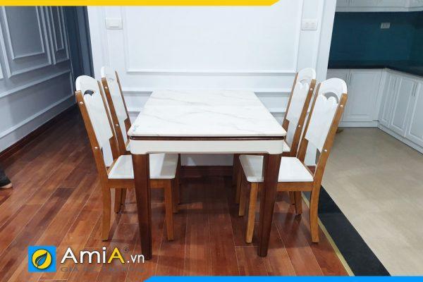 Bộ bàn ăn 4 ghế đẹp