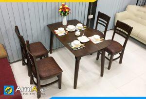 Hình ảnh bàn ăn ghế ăn đẹp