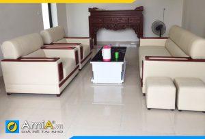 ghế sofa đẹp 1 dài 2 ngắn AmiA085