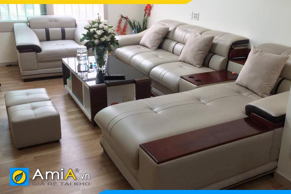 bộ ghế sofa to hoành tráng