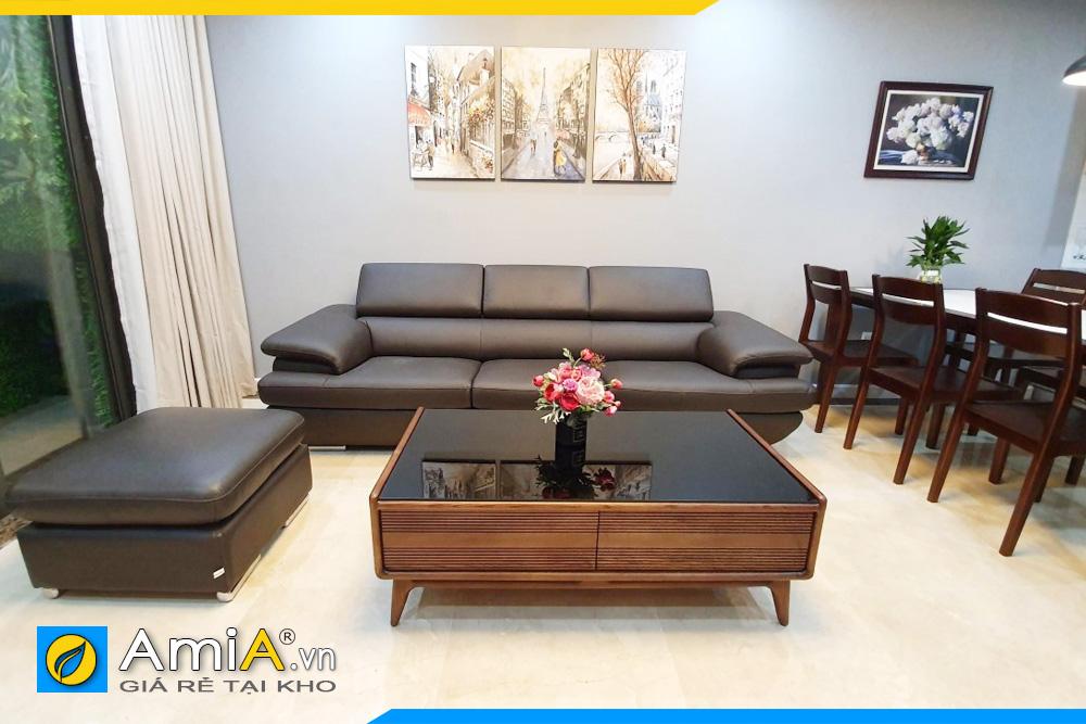 ghế sofa cho phòng khách nhỏ amia257