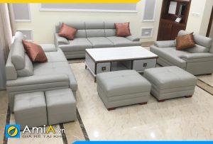 ghế sofa to lớn cho phòng khách rộng AmiA2620