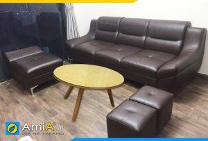 ghế sofa cho phòng khách nhỏ AmiA211