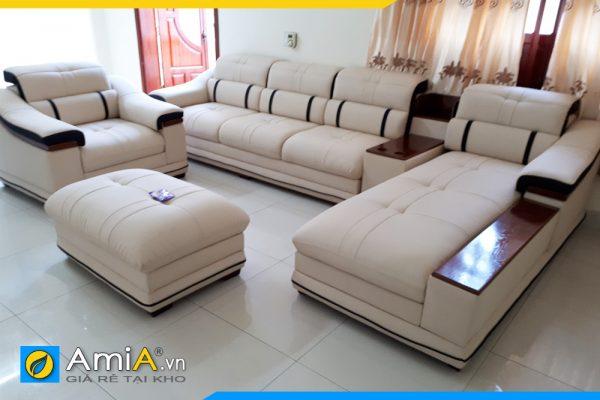 bộ ghế sofa to hoành tráng sang trọng