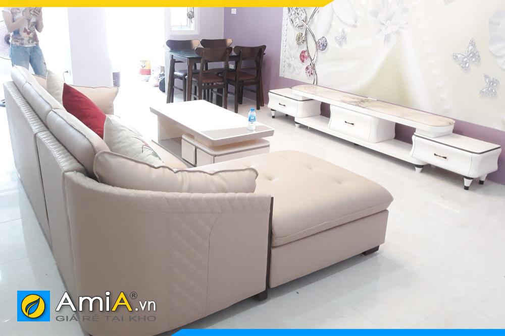 bộ ghế sofa phòng khách đẹp sang trọng AmiA221