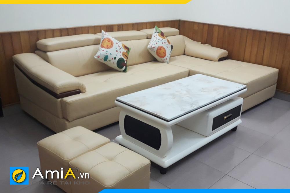 Bộ ghế sofa phòng khách đẹp AmiA160