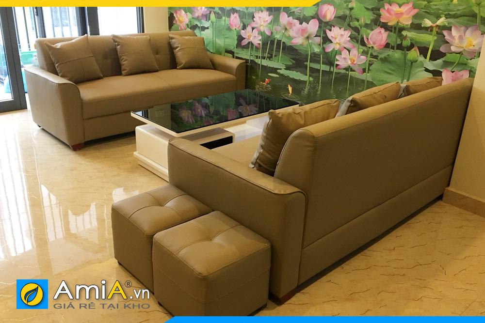 ghế sofa phòng khách 2 văng AmiA2520