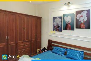 Hình ảnh Bộ tranh cô gái đẹp nghệ thuật treo phòng ngủ hiện đại AmiA 1827