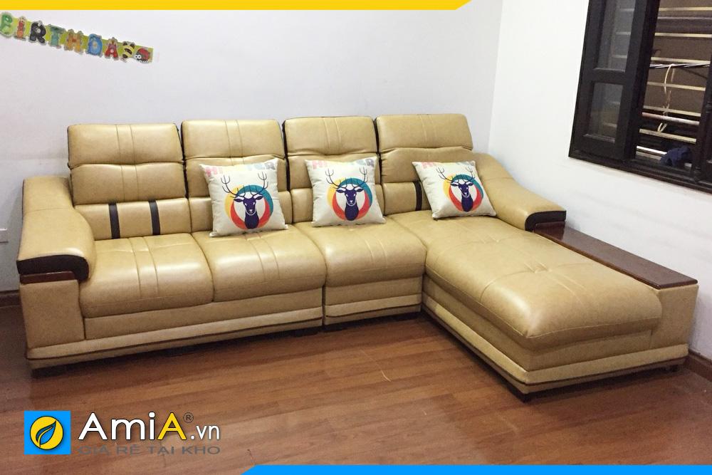 Địa chỉ bán ghế sofa da đẹp tại Hà Nội