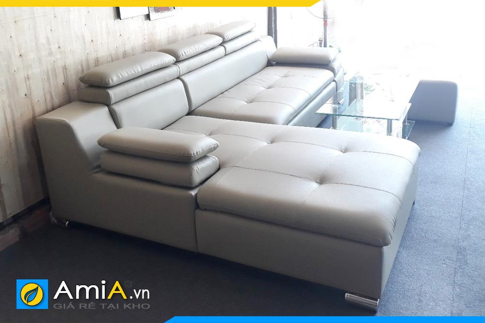 Mẫu ghế sofa da giá rẻ Amia121