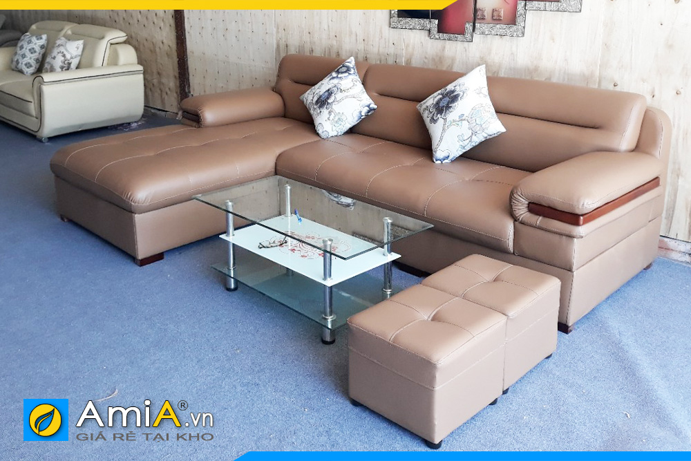 Ghế sofa da đẹp giá rẻ nhất