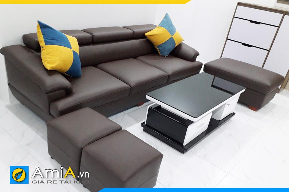 sofa văng nhỏ cho phòng khách hẹp