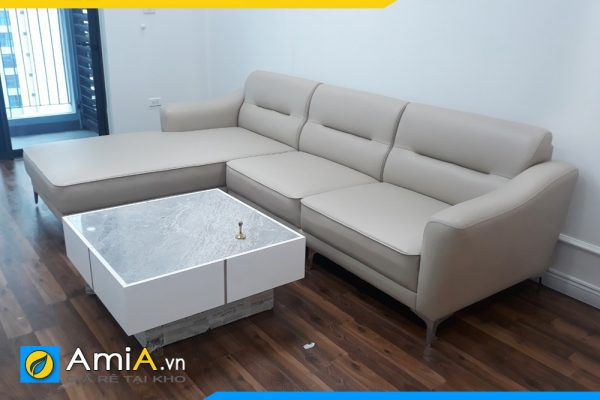 ghế sofa da đẹp giá rẻ AmiA3020