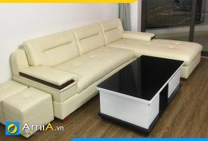 Ghế sofa da đẹp bán chạy AmiA238