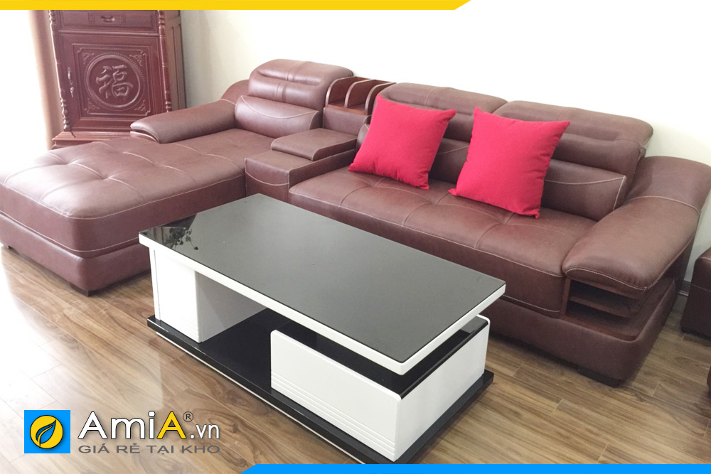 Mẫu ghế sofa phòng khách đẹp sang trọng AmiA 127B