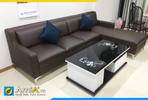 Ghế sofa da giá rẻ nhất AmiA170