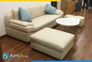 Ghế sofa đẹp kích thước nhỏ