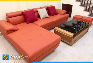 Ghế sofa góc đẹp giá rẻ AmiA094