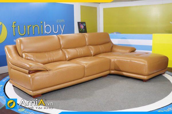 Ghế sofa da cao cấp AmiA 120602
