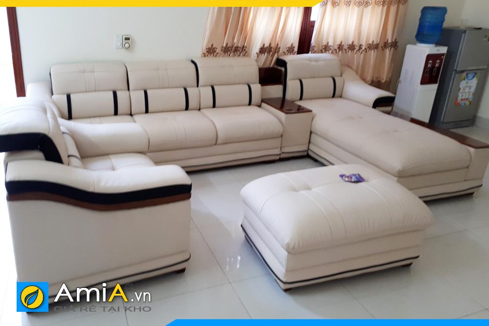 ghế sofa kích thước lớn sang trọng AmiA124