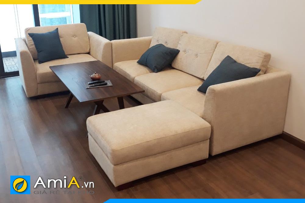 Bộ ghế sofa văng nỉ đẹp giá rẻ