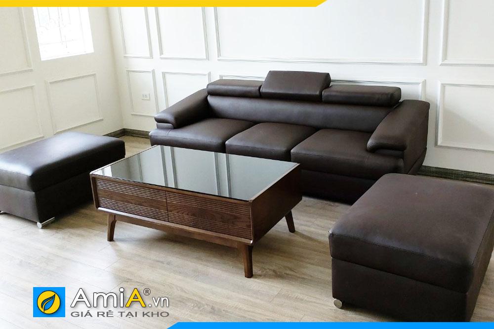 sofa phòng khách đẹp nhỏ gọn