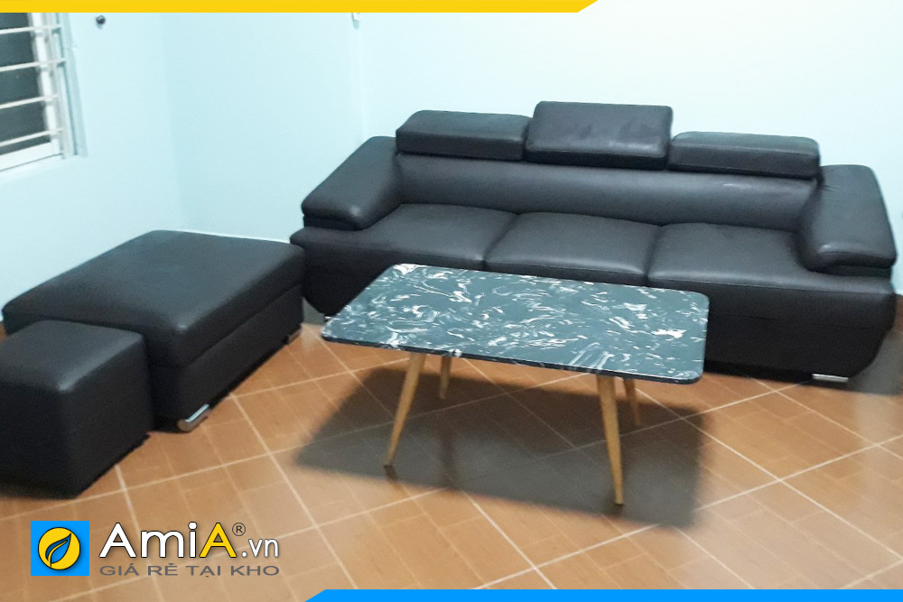 sofa văng da đẹp giá rẻ