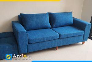 ghế sofa văng nỉ 2 chỗ ngồi AmiA3520