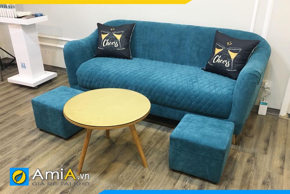 Ghế sofa văng nỉ đẹp AmiA181