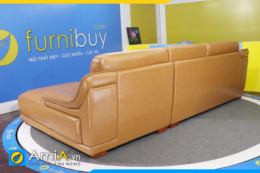 Ghế sofa da nhập khẩu đẹp AmiA 120602