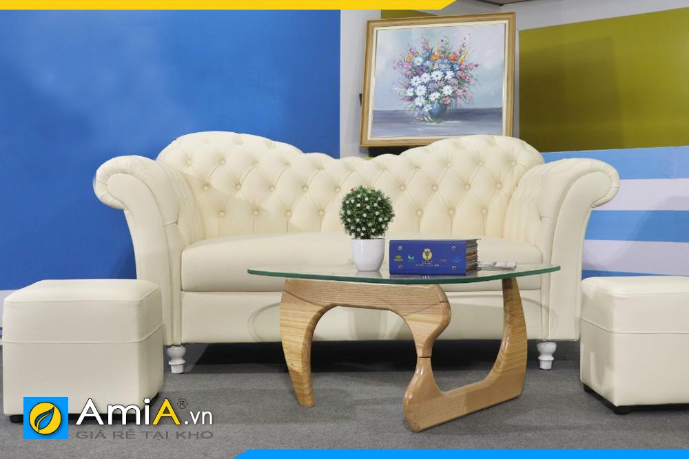 ghế sofa tân cổ điển giá rẻ AmiA 170602