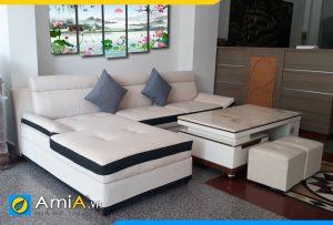 sofa đẹp kê phòng khách