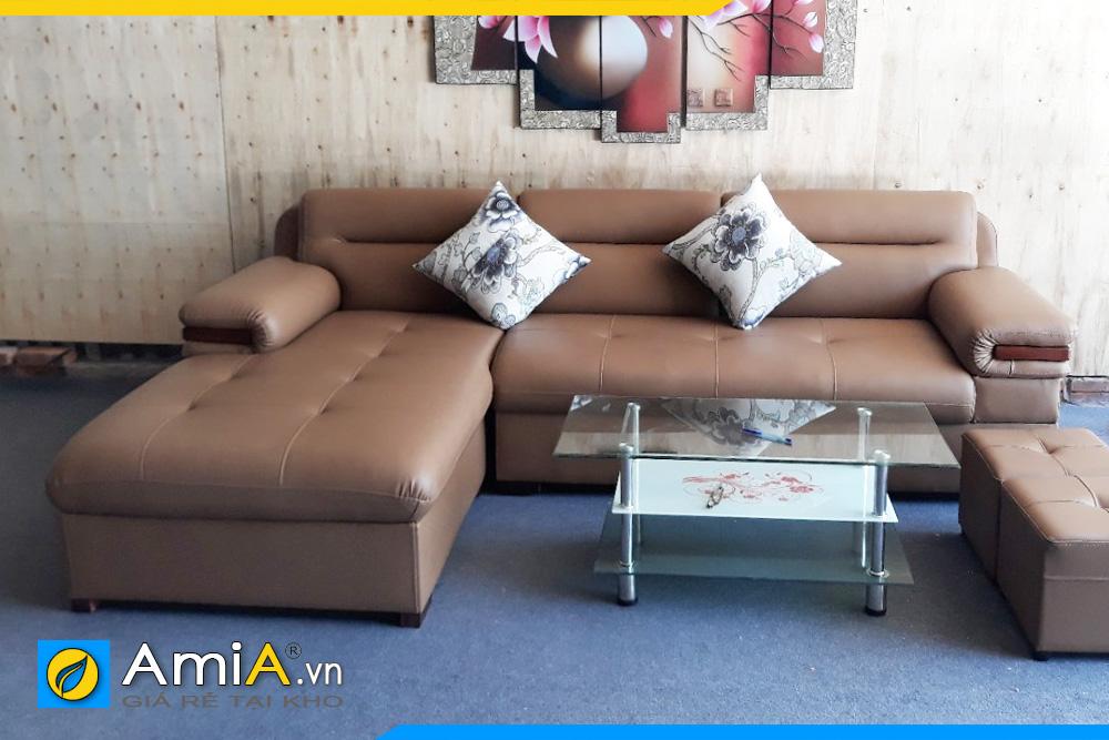 sofa da đẹp giá rẻ nhiều màu sắc