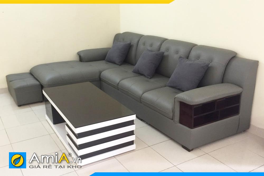 ghế sofa phòng khách kiểu góc