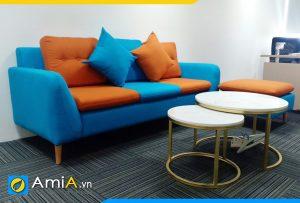 ghế sofa văng nỉ đẹp nhiều màu