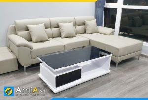 ghế sofa da đẹp AmiA141b