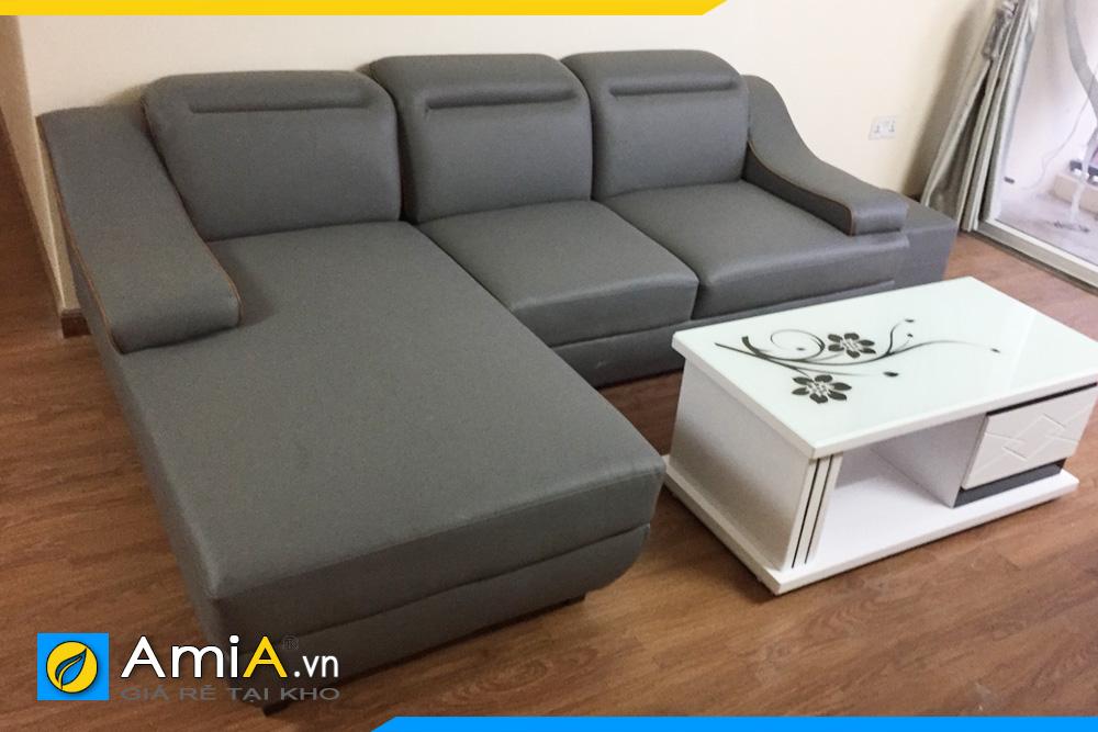sofa giá rẻ góc chữ L Amia097