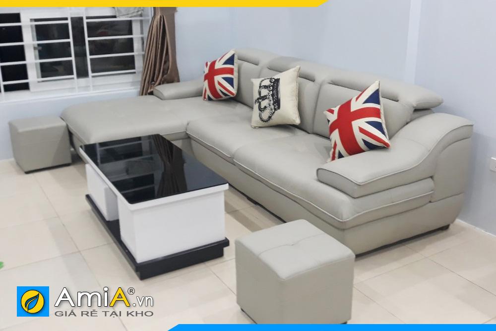 Sofa phòng khách nhỏ xinh kiểu góc