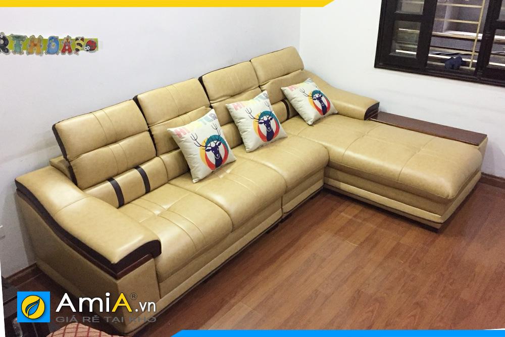 Sofa phòng khách mẫu đẹp sang trọng