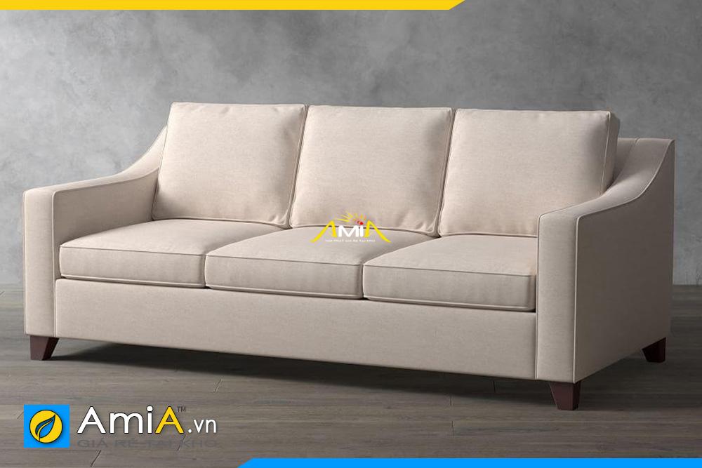 ghế sofa văng nỉ màu ghi sáng