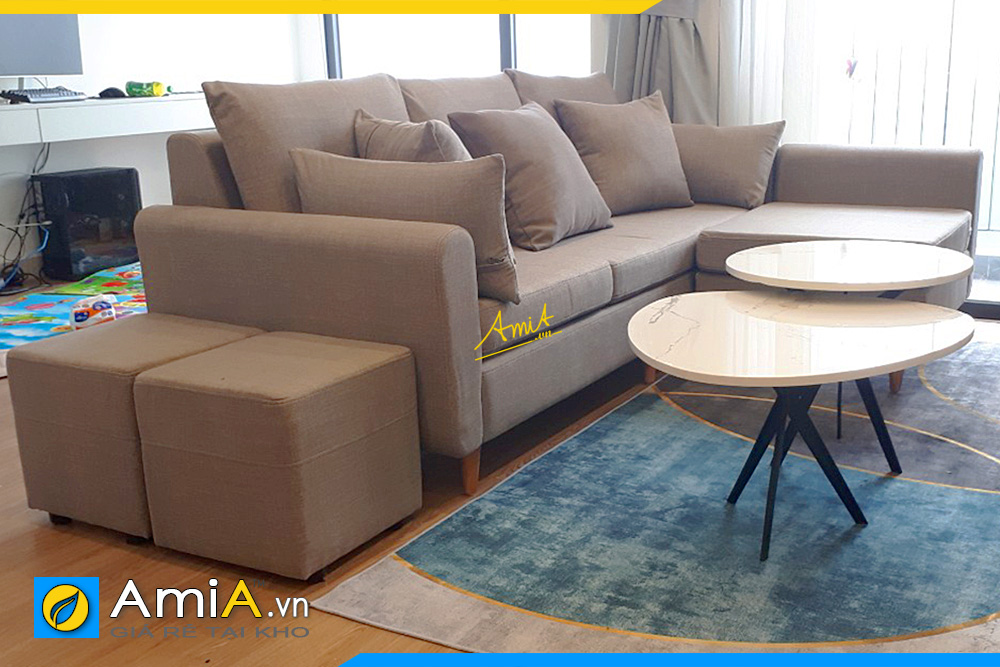 sofa góc đẹp phòng khách